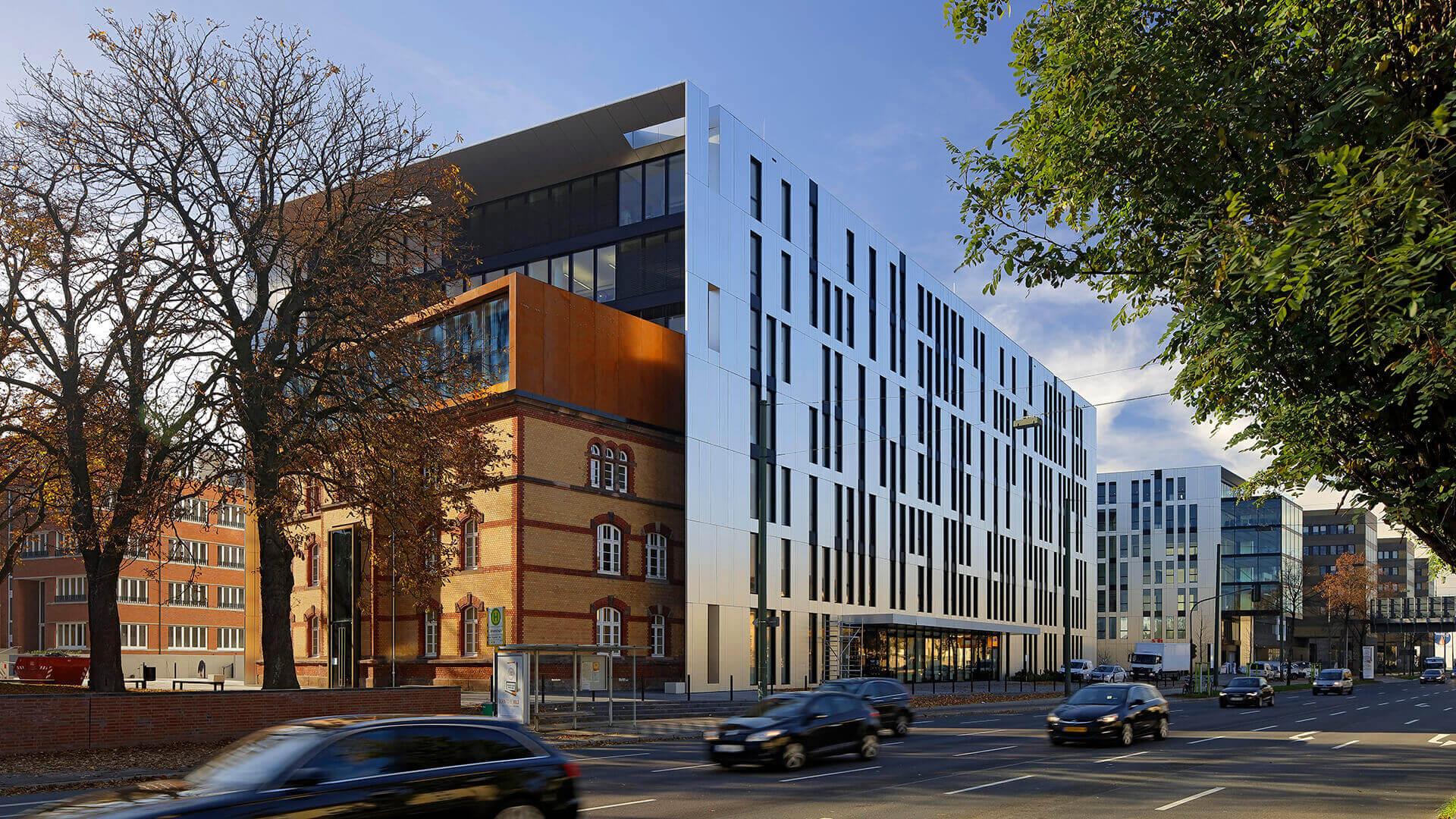 Architekten Düsseldorf architekturbüro slapa oberholz pszczulny