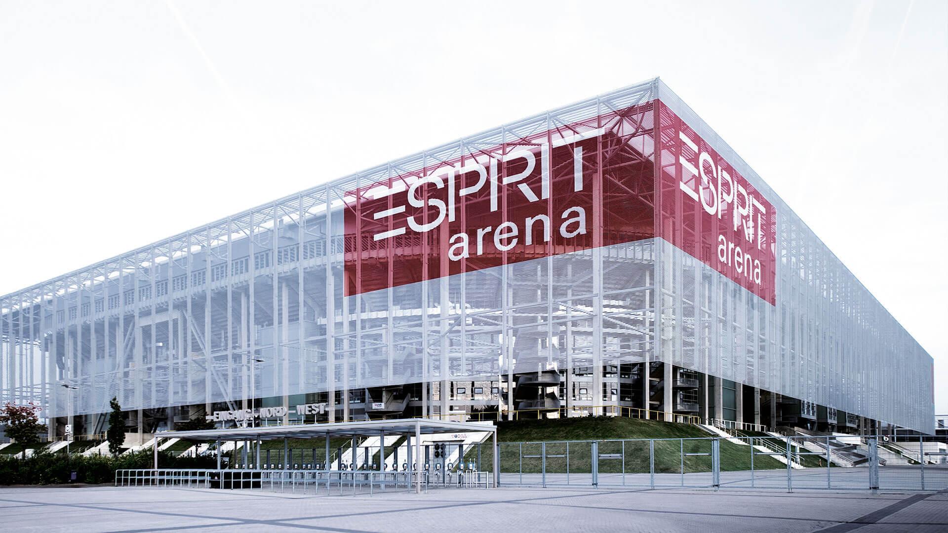 Esprit arena merkur spielarena sop architekten - Architekten in dusseldorf ...