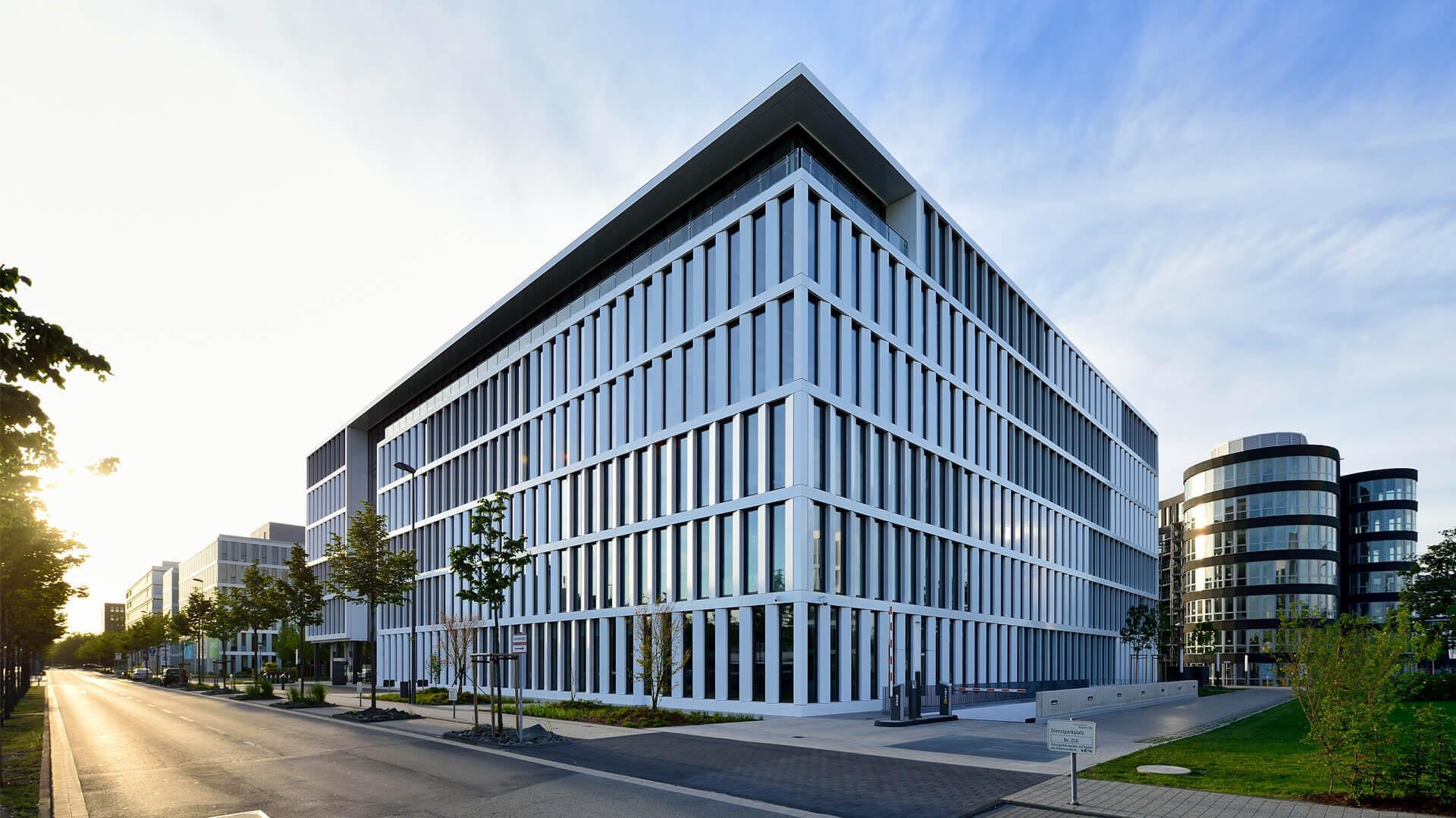 Architekten Düsseldorf dusseldorf airport authority headquarters