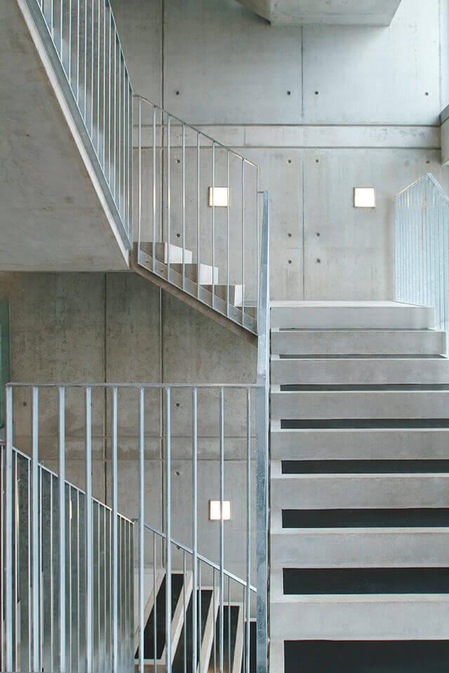 Treppenhaus architektur  Hohenzollernwerk | sop architekten