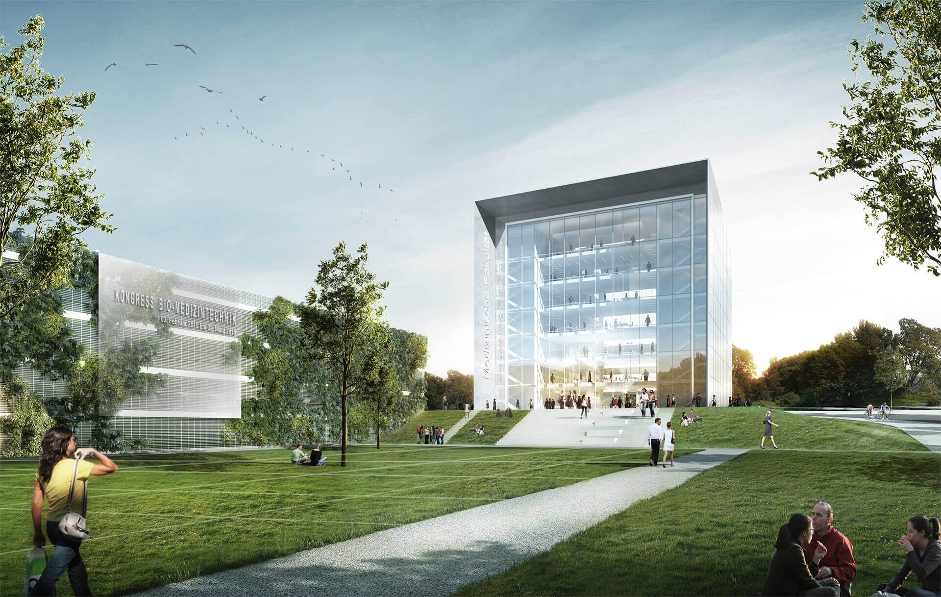 Cluster bio medizintechnik rwth sop architekten - Architekten aachen ...